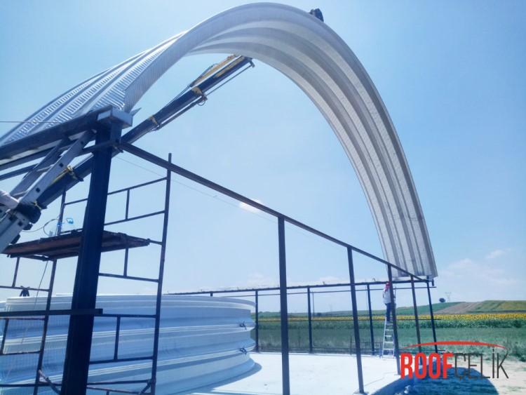 Roof Çelik Teknik Detaylar